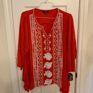 andree blouse worn once